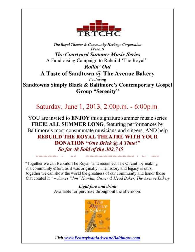 6-1 A Taste of Sandtown@ The Avenue Bakery PRI (2)