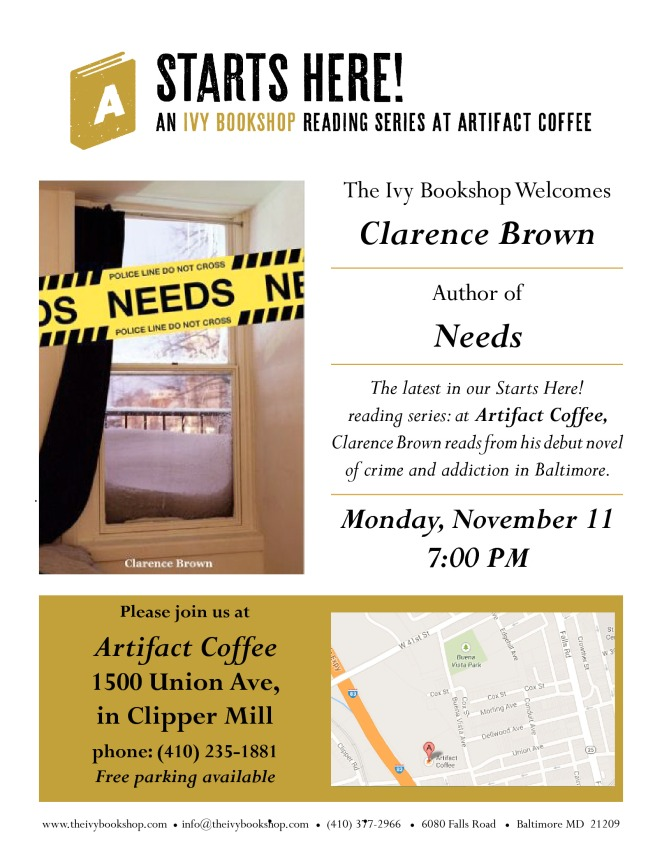 artifact coffee_nov 11_flier
