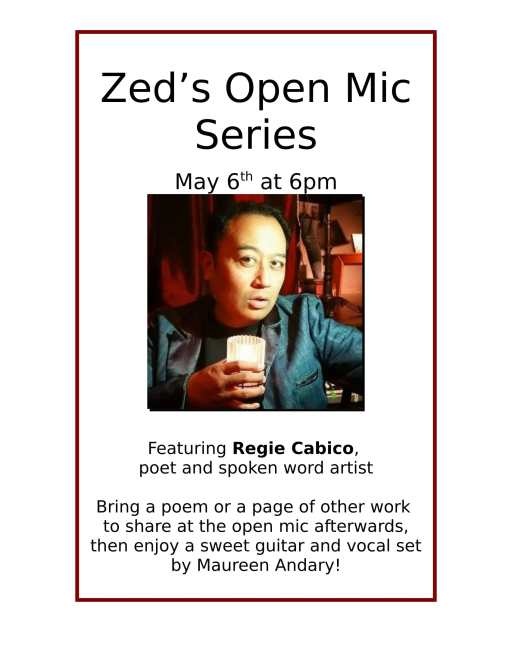 Poem -- Zed's poster for Regie-1