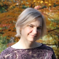 A photo of author Katherine E. Young.