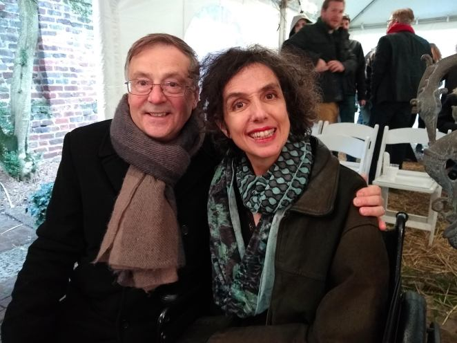 John Adam Wasowicz (left) and Shirley Kagan (right).