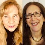 Split image: Lori Jakiela (left) and Nancy Naomi Carlson (right)